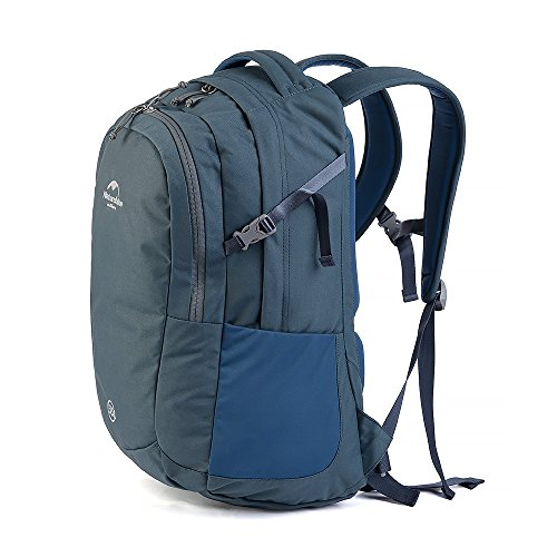 HYSENM Unisex Rucksack Wanderrucksack für Laptop Notebook-Rucksack Reisen Camping 35L Grau