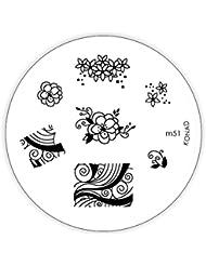 KONAD Plaque d'Images Stamping M51