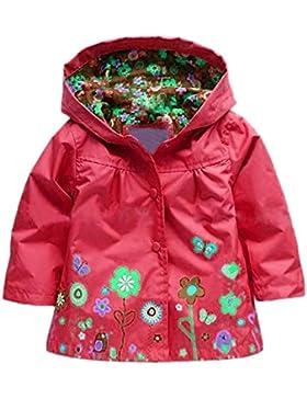 Très Chic Mailanda Kinder Mädchen Regenjacke Regenmantel mit Kapuze