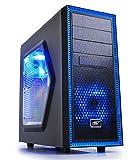 DEEPCOOL Tesseract PC-Gehäuse (1x USB 3.0, Kompakt Mid-Tower ATX) schwarz