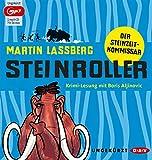 Steinroller. Der Steinzeit-Kommissar: Ungekürzte Lesung mit Boris Aljinovic (1 mp3-CD) - Martin Lassberg