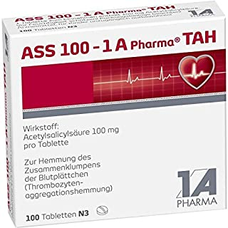 ASS 100-1A Pharma TAH 100 stk