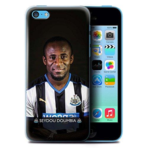 Officiel Newcastle United FC Coque / Etui pour Apple iPhone 5C / Haïdara Design / NUFC Joueur Football 15/16 Collection Doumbia