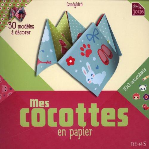 Mes cocottes en papier à décorer