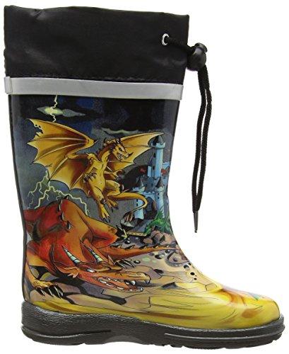 Beck Jungen Dragon Gummistiefel Mehrfarbig (50)