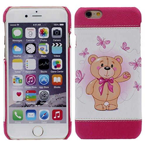 iPhone 7 Plus Coque Mince et Léger, Dur Plastique Rose Beau Housse de Protection Case pour Apple iPhone 7 Plus 5.5 inch rose