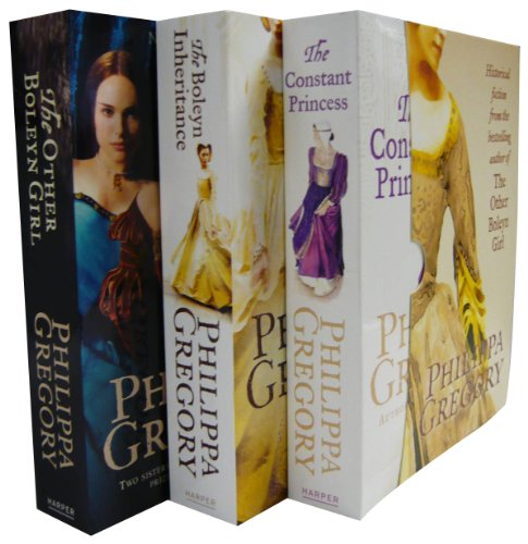 Philippa Gregory Collection Set - Constant Princess, The Other Boleyn Girl, Boleyn Inheritance