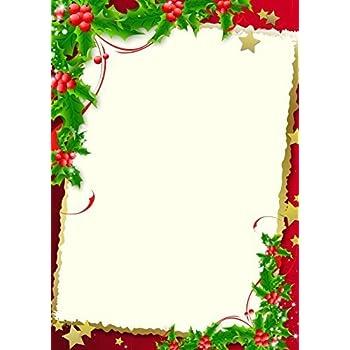 Papier à Lettre Noel à Imprimer Gratuit Format A4