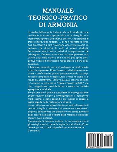 Zoom IMG-1 manuale teorico pratico di armonia