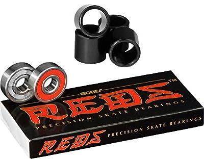 Bones Kugellager Kugellager Bones Reds Precision Skate (8Pack W/SPACER)