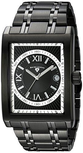 Swiss Legend 40012-bb-11-rn-sa–Montre de Poignet pour homme, bracelet en acier inoxydable noir