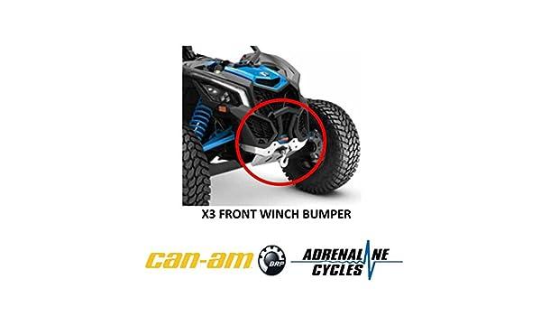 Can Am Maverick X3 XRC XMR front bumper OEM NEW #715004788