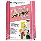 Agenda de poche de la famille organisée 2020 - Rose (de sept 2019 à décembre 2020): S'organiser n'a jamais été aussi simple !