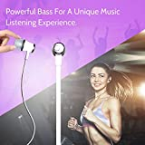 #5: AllExtreme 3.5mm Jack Wired Earphones, Bass Stereo Earbuds Headphones, In-ear Headphones with Built-in Mic, Hands-free Calling, Inline Controls for iOS /Android (White)
