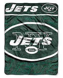 Nfl new york jets micro raschel throw blanket 46 x 60 for Amazon piumoni