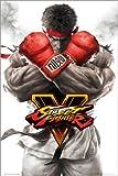 Poster Street Fighter 5 - Ryu Key Art - preiswertes Plakat, XXL Wandposter
