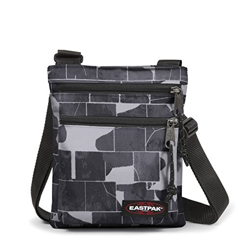 Eastpak Rusher Sac bandoulière, 23 cm, Gris (Cracked Dark)
