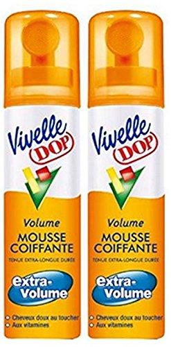 Vivelle Dop - Mousse De Coiffage Extra Volume - 150 ml - Lot de 2