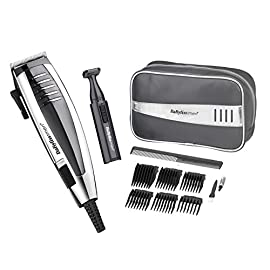 professional hair clipper - 51edZADJJsL - BaByliss Professional Hair Clipper Gift Set for Men