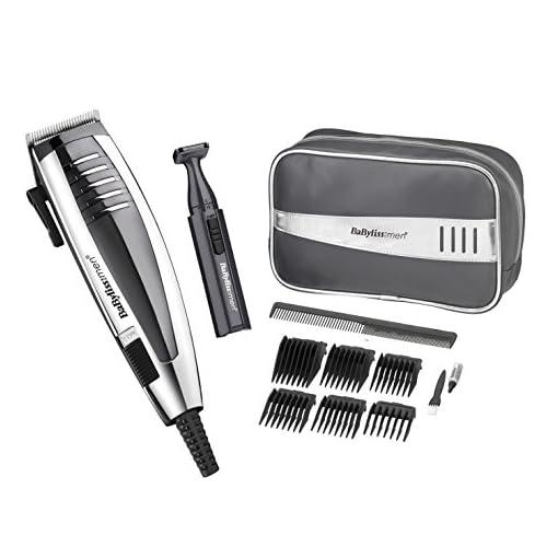 professional hair clipper - 51edZADJJsL - BaByliss Professional Hair Clipper Gift Set for Men