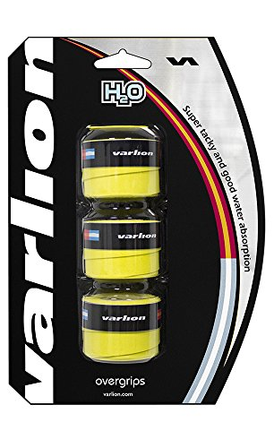 Varlion Overgrip H2O - Overgrip de pádel, Unisex, Amarillo