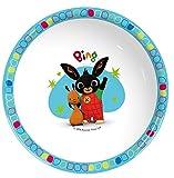 Bing, set di bicchiere, ciotola e piatto, multicolore, plastica, Red, Three-piece