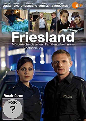 Friesland: Mörderische Gezeiten / Familiengeheimnisse / Klootschießen [2 DVDs]