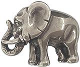 Norman K Modedesign Gürtelschnalle Elefant silber