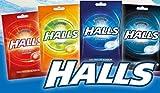 Paquete de prueba   Halls caramelo sin azúcar 4x65 g/dulce fresco