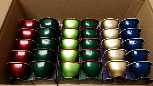 Special T - Zusammenstellung mind. 6 verschiedene Sorten - 30 Kapseln für Nestle Tee Maschinen - Grüntee, Schwarztee, Blautee, Rooibos-Tee und Kräutertee