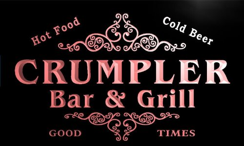 u09733-r-crumpler-family-name-bar-grill-cold-beer-neon-light-sign-barlicht-neonlicht-lichtwerbung