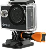 Rollei Actioncam 415 - Action-Camcorder WiFi con risoluzione video Full HD da 1080p/30 fps - incl. alloggiamento subacqueo fino a 40 metri - nero