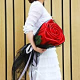 SED Flores Artificiales - Rosas Gigantes De Gran Tamaño Red Red Bouquet Regalo De San Valentín para Enviar A Su Novia Tanabata Regalo,Rojo,70 * 30 * 30