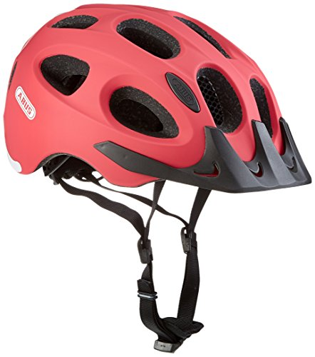 Abus Youn-I Ace Fahrradhelm, Cherry Red, M (52-57 cm)
