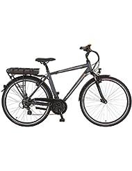 Prophete Herren Elektrofahrrad E-Bike Alu-Trekking 28 Zoll Navigator 6.4, anthrazit matt, 52, 51526-0111