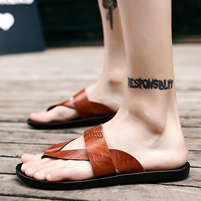 @Sandals Verano, Transpirable Antideslizante Personalizado Chanclas, Hombres De Ocio De Playa, Cool Arrastrando