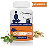 Potentveda Ashwagandha Extract For Men & Women - 60 Capsules (Pack Of 1)