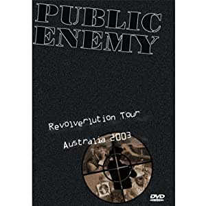 PUBLIC ENEMY - REVOLVERLUTION TOUR 2003 (2 x DVD + CD)
