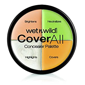 Wet n Wild 4 Colores Coverall Concealer Palette Maquillajes – 1 unidad
