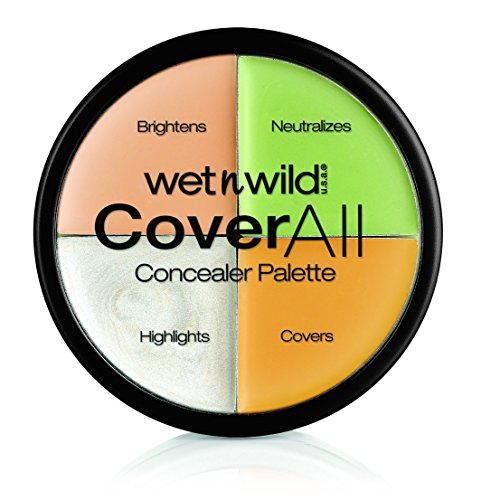 Wet n Wild 4 Colores Coverall Concealer Palette...