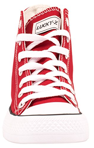 Elara , Chaussons montants homme Rouge - Rouge