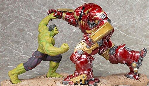 Avengers Age of Ultron ARTFX+ Statue Hulk vs. Hulkbuster Iron Man Kotobukiya (Kotobukiya Spiderman)