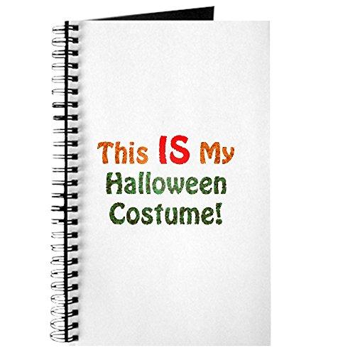 CafePress–This Is My Halloween Kostüm.–Spiralbindung Notizbuch, persönliches Tagebuch, Aufgabe Tagebuch