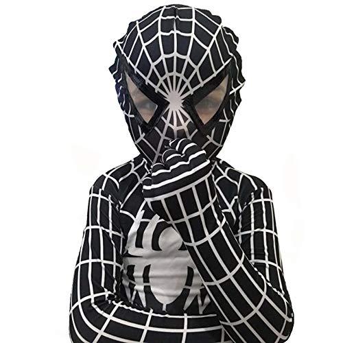 Rot Schwarz Das Erstaunliche Spiderman Kostüm Spandex Erwachsene Spider Man Anzug Spider-Man Kostüme Erwachsene Kinder Kinder Cosplay Kleidung,A-Adult/L
