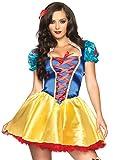 Leg Avenue 85516 - Fairytale Snow White Kostüm, Größe M/L (EUR 38-40)
