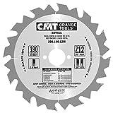 CMT 290.190.12M Lama Circolare per Taglio Lungo Vena per Macchine Portatili, Metallo/Grigio
