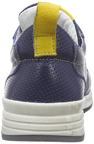 Momino 3170n, Baskets Basses mixte enfant Bleu - Blau (AVIO)