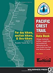 Pacific Crest Trail Data Book: Mileages, Landmarks, Facilities, Resupply Data, and Essential Trail I: Written by Benedict Go, 2013 Edition, (5th Revised edition) Publisher: Wilderness Press [Paperback]