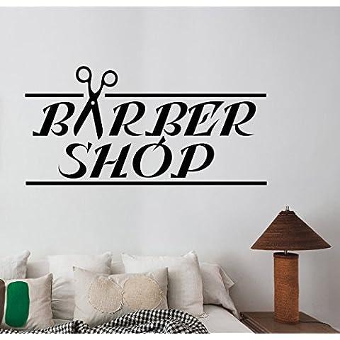 Barbershop vinile finestra decalcomania Custom Logo Art