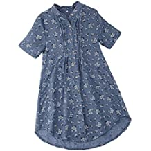 Luckycat Camisetas Mujer Tallas Grandes Camisa A Rayas De Gran TamañO con Camisa De AlgodóN Y